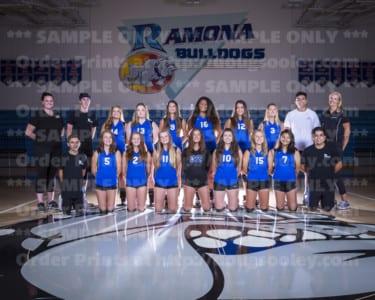 2017 RHS Girls Volleyball Novice