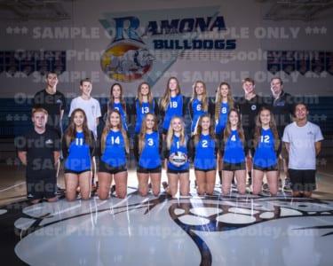 2017 RHS Girls Volleyball JV