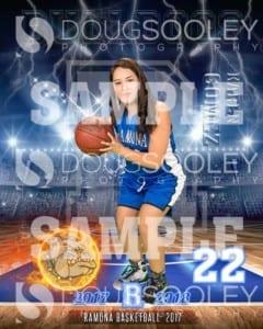 2017-2018 Ramona Girls Basketball