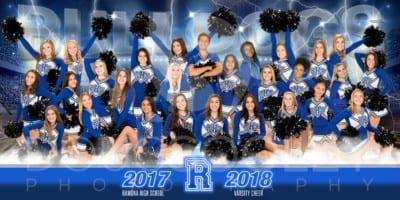 2017-2018 Ramona Cheer Squad