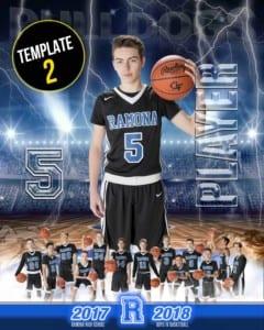 2017-2018 Ramona Boys JV Basketball