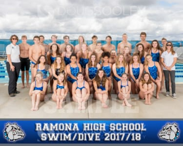 2017-2018 RHS Swim-Dive Teams