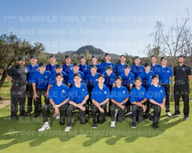 2017-2018 Ramona Boys Golf 2017-2018