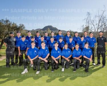 2017-2018 Ramona Boys Golf 2017-2018
