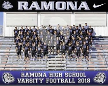 2018 RHS Football Varsity