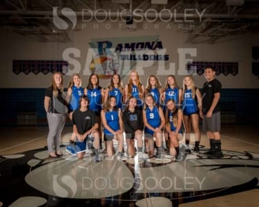 2018 RHS Girls Volleyball Novice