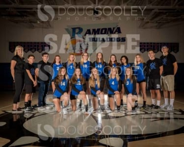 2018 RHS Girls Volleyball JV
