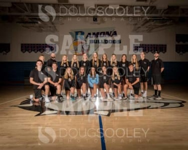 2018 RHS Girls Volleyball Varsity