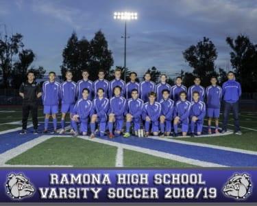 2018 RHS Boys Soccer Varsity