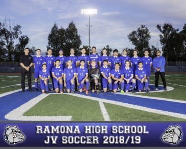 2018 RHS Boys Soccer JV