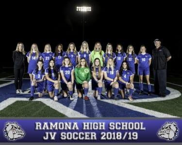 2018 RHS Girls Soccer JV