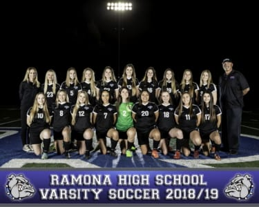 2018 RHS Girls Soccer Varsity