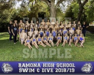 2019 RHS Swim & Dive Team