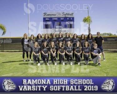 2019 RHS Girls Softball