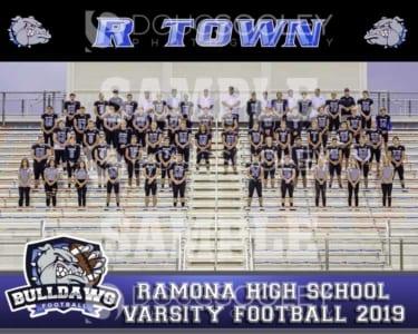 2019 RHS Football Varsity