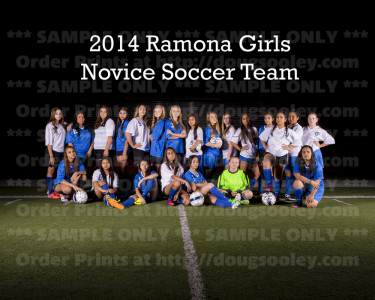 RHS Girls Soccer 2014 Novice