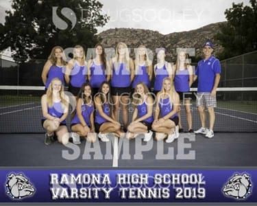 2019 RHS Girls Tennis Varsity