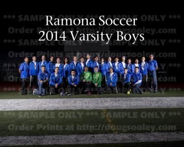RHS Boys Soccer Varsity 2014
