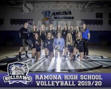2019 RHS Girls Volleyball Novice