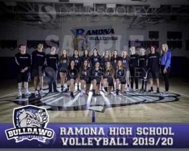 2019 RHS Girls Volleyball JV