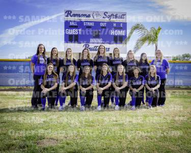 RHS Girls Softball 2016