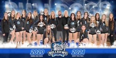 2020 RHS Girls Volleyball Team