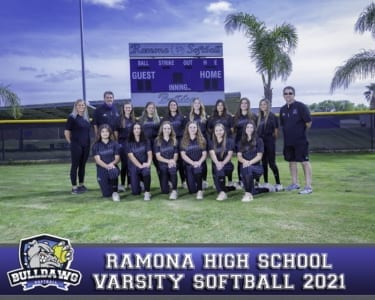 2021 RHS Softball Varsity