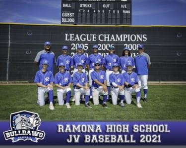 2021 RHS Baseball JV