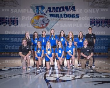 2016 RHS Girls Volleyball Novice