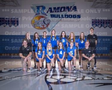 2016 RHS Girls Volleyball Novice