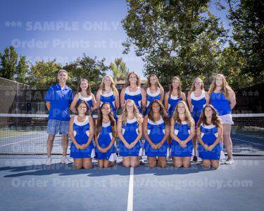 2016 RHS Girls Tennis Varsity