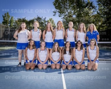 2016 RHS Girls Tennis JV