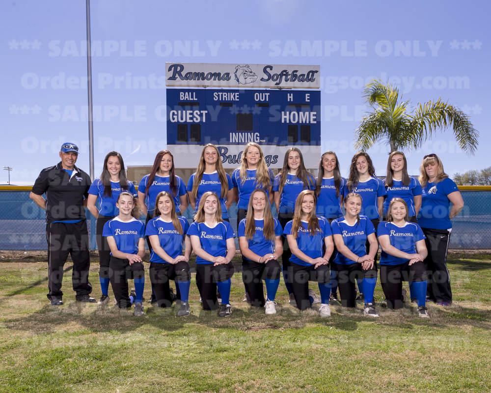 2017 RHS Softball